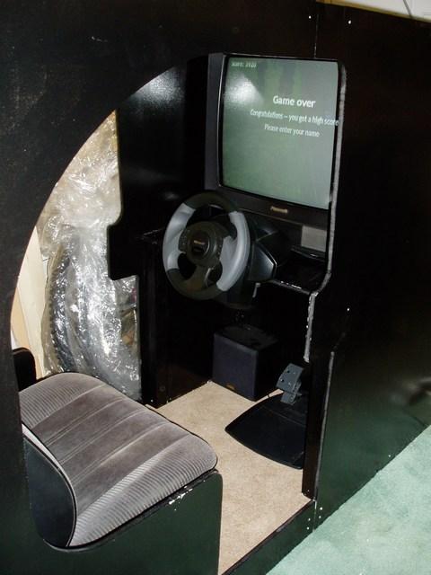 Adamdawes Com Retro Gaming Driving Cabinet