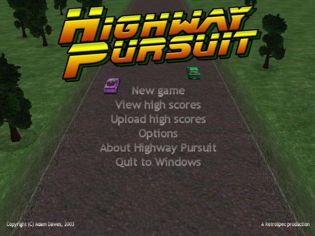 Highway Pursuit full screenshot